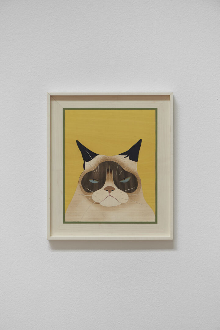 Exhibition View Camille Blatrix Soloshow «Standby Mice Station; view on Grumpy Cat (Summer), 2020» at Kunthalle Basel, Basel, 2020 / Photo: Philipp Hänger / Courtesy: the artist; Galerie Balice Hertling, Paris, and Andrew Kreps Gallery, New York