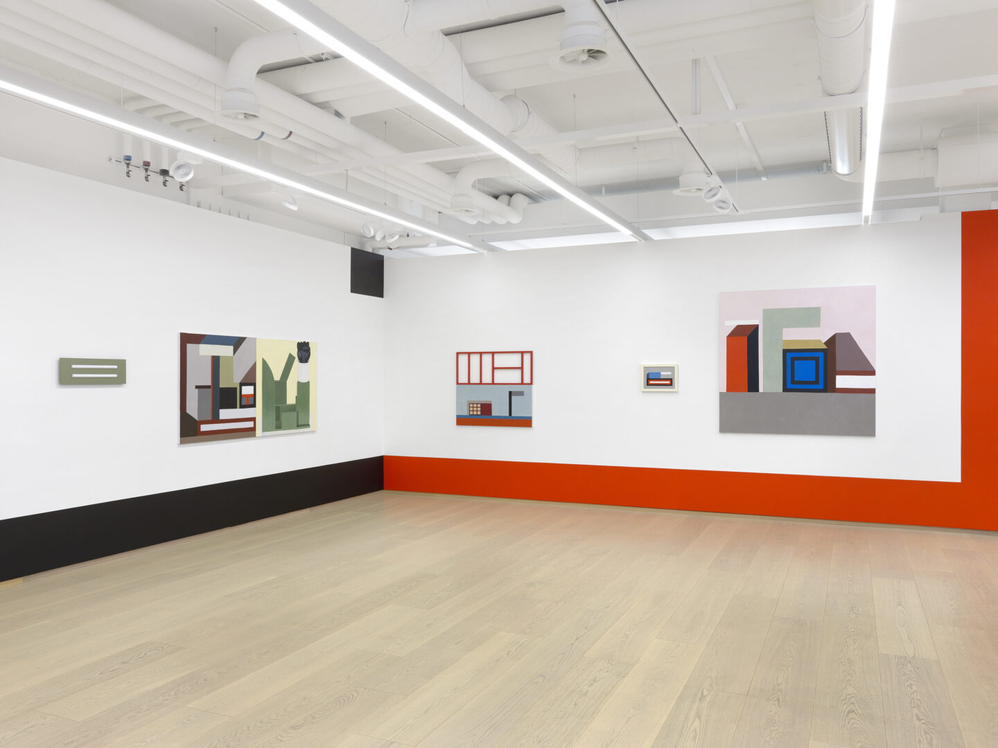 Exhibition View Nathalie Du Pasquier Soloshow «the strange order of things 2» at Pace Gallery, Geneva, 2020 / Photo: Annik Wetter / Courtesy: the artist and Pace Gallery