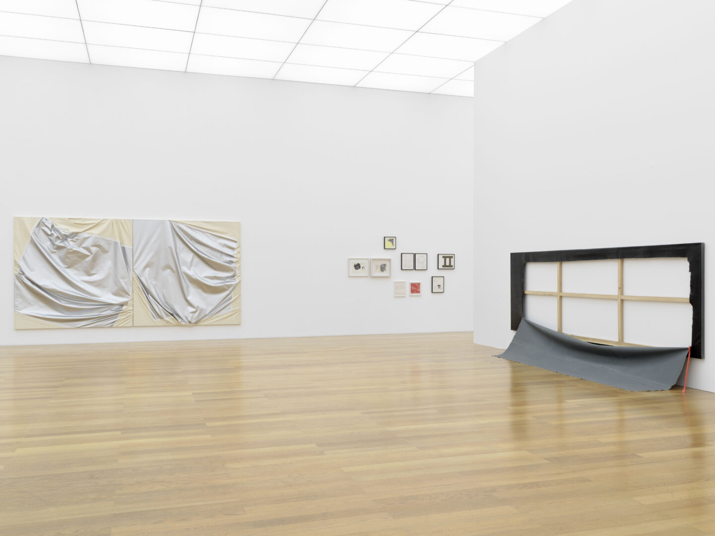 KMLExhibition View Steven Parrino Soloshow «Nihilism Is Love» at Kunstmuseum Liechtenstein, Liechtenstein, 2020 / Photo: Stefan Altenburger / © Kunstmuseum Liechtenstein / Courtesy: the artist and Kunstmuseum Liechtenstein_200217_0106