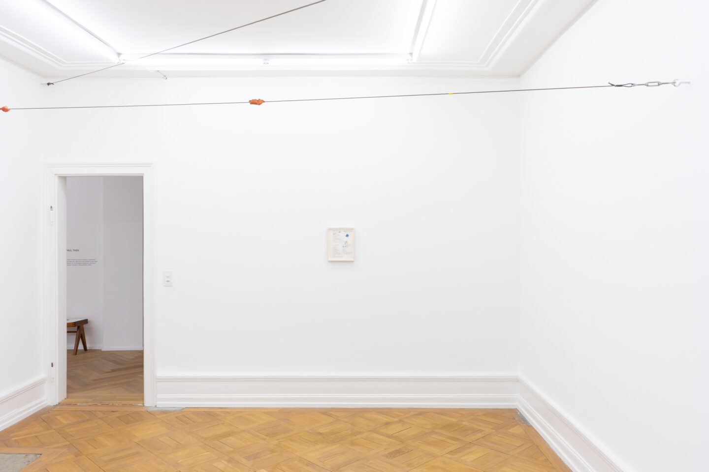 Exhibition View Peter Hujar & Paul Thek Joint Exhibition at Mai 36 Galerie, Zurich, 2020 / Courtesy: Mai 36 Galerie, Zurich