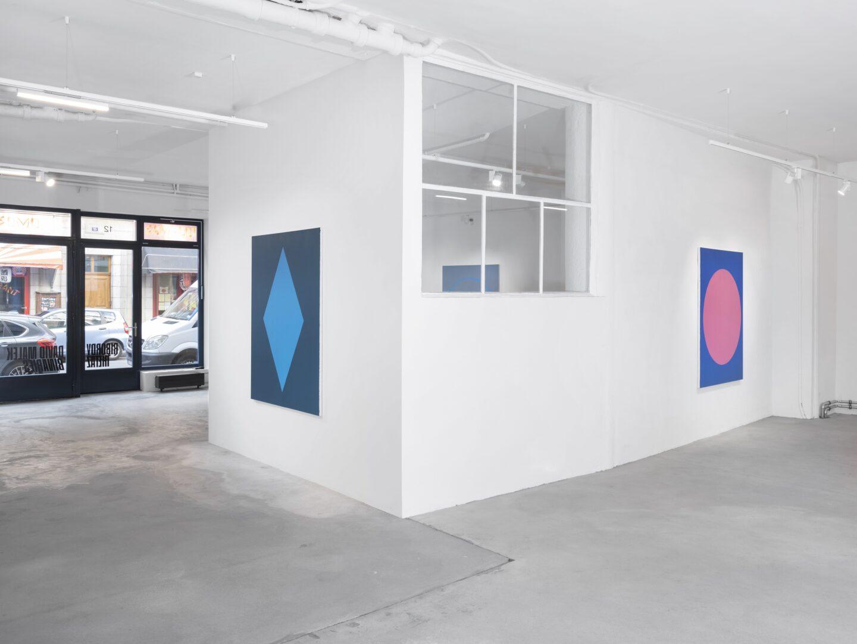 Exhibition View David Malek Soloshow «Binaries» at Ribordy Thetaz, Geneva, 2020 / Photo: Julien Gremaud / Courtesy: the artist and Ribordy Thetaz
