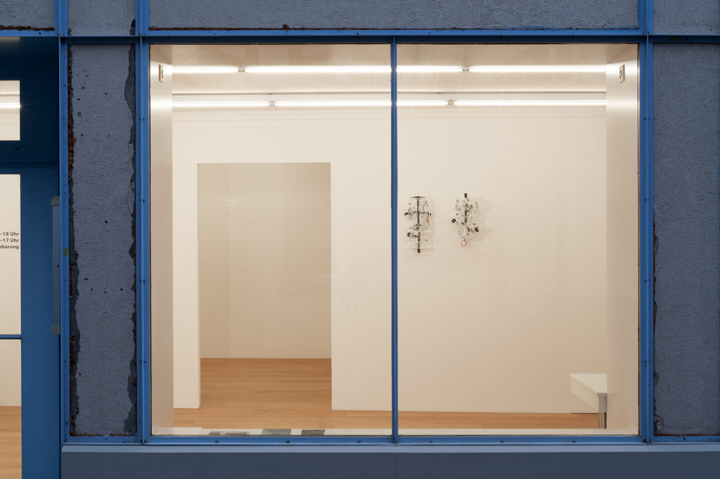 Exhibition View Stefan Burger Soloshow «Baden-Baden» at Kirchgasse, Steckborn, 2020 / Courtesy: the artist and Kirchgasse