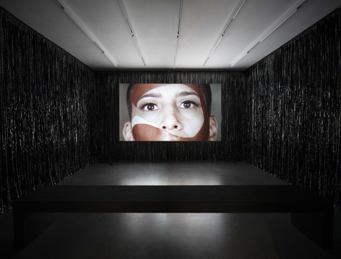 Exhibition View Groupshow «Up to and Including Limits: After Carolee Schneemann; view on Katrina Daschner, Pferdebusen, 2017» at Muzeum Susch, Susch, 2019-2020 / Photo: Maja Wirkus / Courtesy: the artist and Muzeum Susch