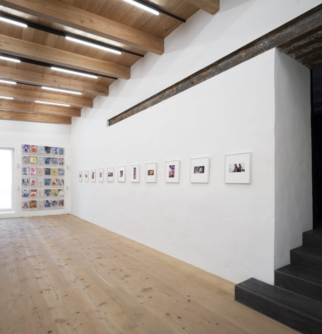 Exhibition View Groupshow «Up to and Including Limits: After Carolee Schneemann; view on Katrina Daschner, from the Zuhälter series, 1999-2002» at Muzeum Susch, Susch, 2019-2020 / Photo: Maja Wirkus / Courtesy: the artist and Muzeum Susch