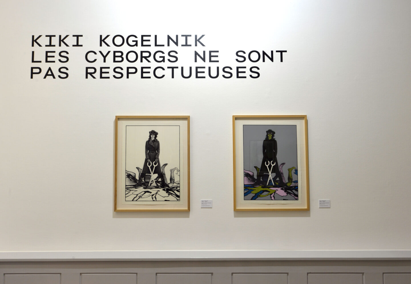 Exhibition View Kiki Kogelnik «Les cyborgs ne sont pas respectueuses» at Musée des beaux-arts de La Chaux-de-Fonds, La Chaux-de-Fonds, 2020 / © Kiki Kogelnik Foundation. All rights reserved