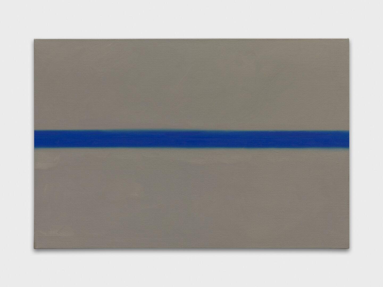 Exhibition View Emil Michael Klein Soloshow «Mono Cross; view on Line, 2020» at Galerie Francesca Pia, Zurich, 2020 / Photo: Annik Wetter / Courtesy: the artist and Galerie Francesca Pia