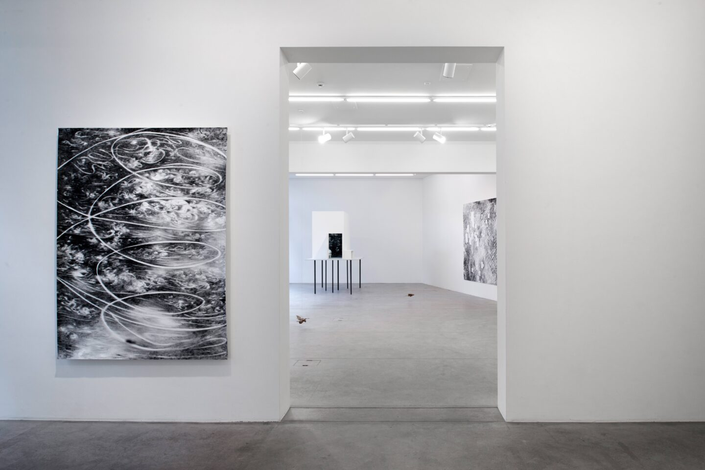 Exhibition View Julia Steiner Soloshow «Circular Flight» at Galerie Urs Meile, Lucerne, 2020 / Photo: © Galerie Urs Meile / Courtesy: the artist and Galerie Urs Meile