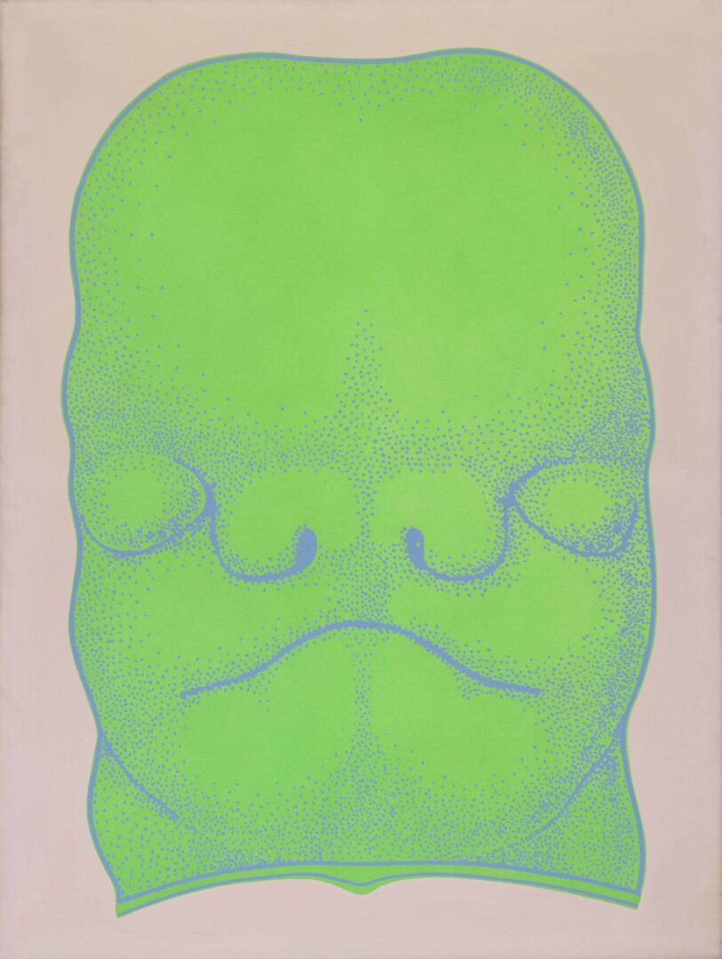 Exhibition View Kiki Kogelnik «Les cyborgs ne sont pas respectueuses; view on Big Science Fiction Baby, 1967» at Musée des beaux-arts de La Chaux-de-Fonds, La Chaux-de-Fonds, 2020 / © Kiki Kogelnik Foundation. All rights reserved
