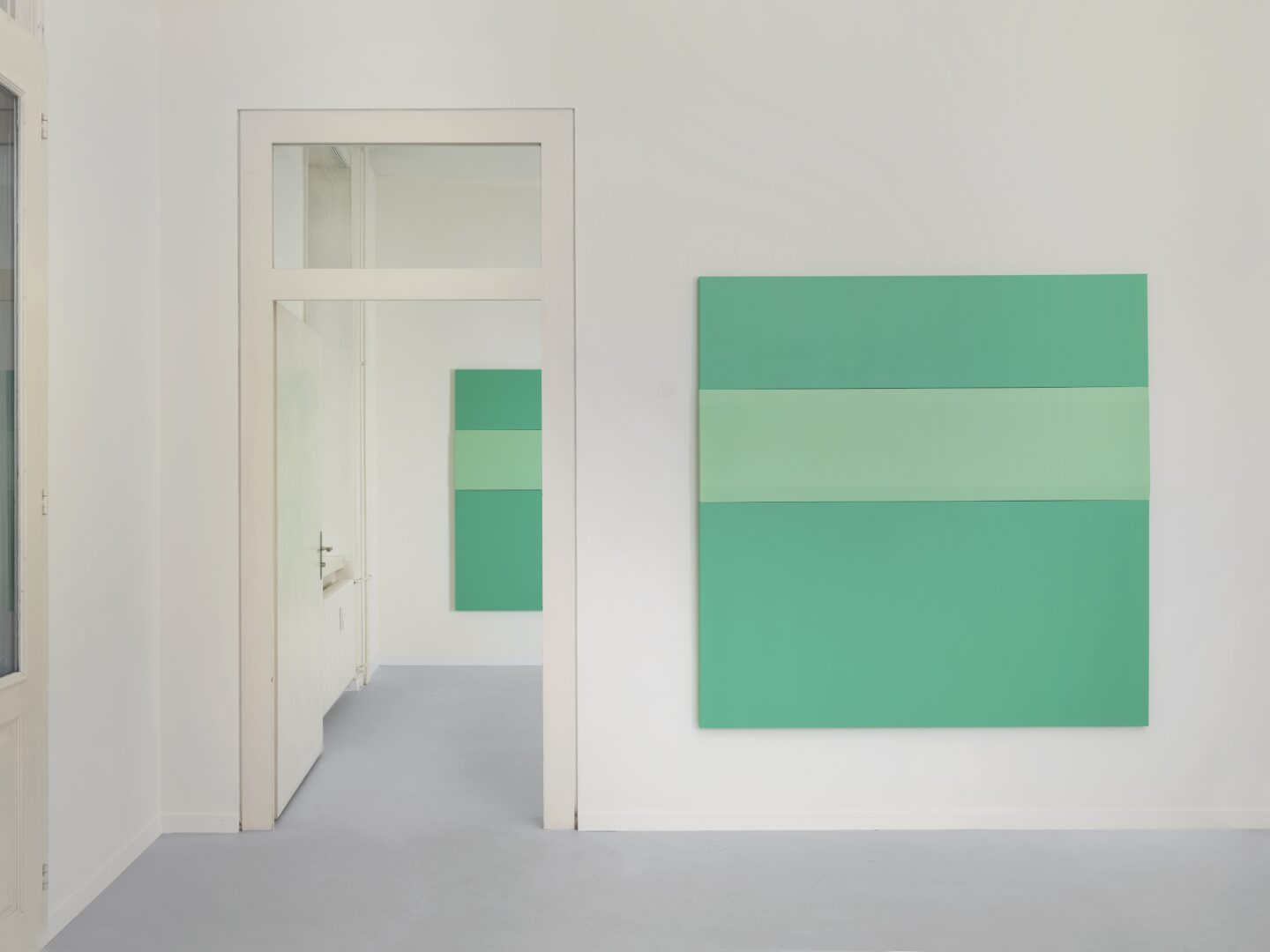 Exhibition View Frederic Gabioud Soloshow «Double or Nothing» at Lemoyne Project, Zurich, 2020 / Photo: Julien Gremaud / Courtesy: the artist and Lemoyne Project