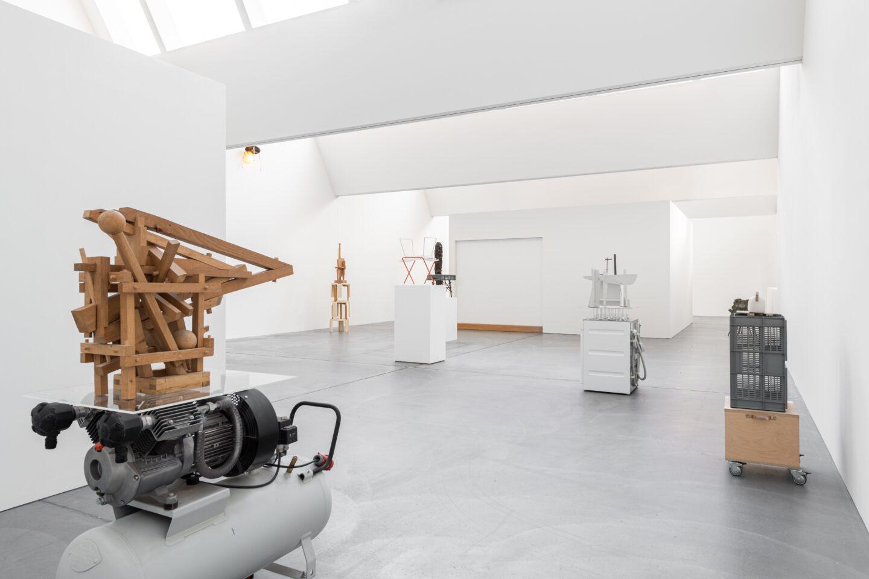 Exhibition View Florian Slotawa Soloshow «Customized Logistics» at von Bartha, Basel, 2020 / Photo: Ben Koechlin / Courtesy: the artist and von Bartha
