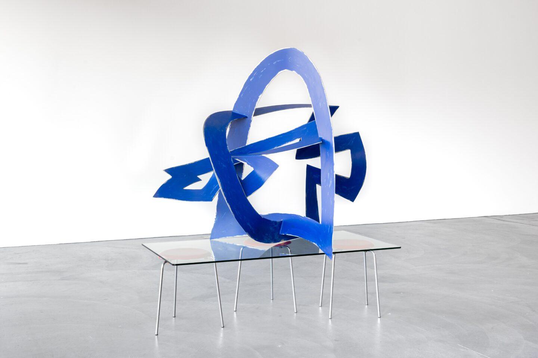 Exhibition View Florian Slotawa Soloshow «Customized Logistics; view on Florian Slotawa / Marianne Eigenheer, Untitled, 1998/2020» at von Bartha, Basel, 2020 / Photo: Ben Koechlin / Courtesy: the artist and von Bartha