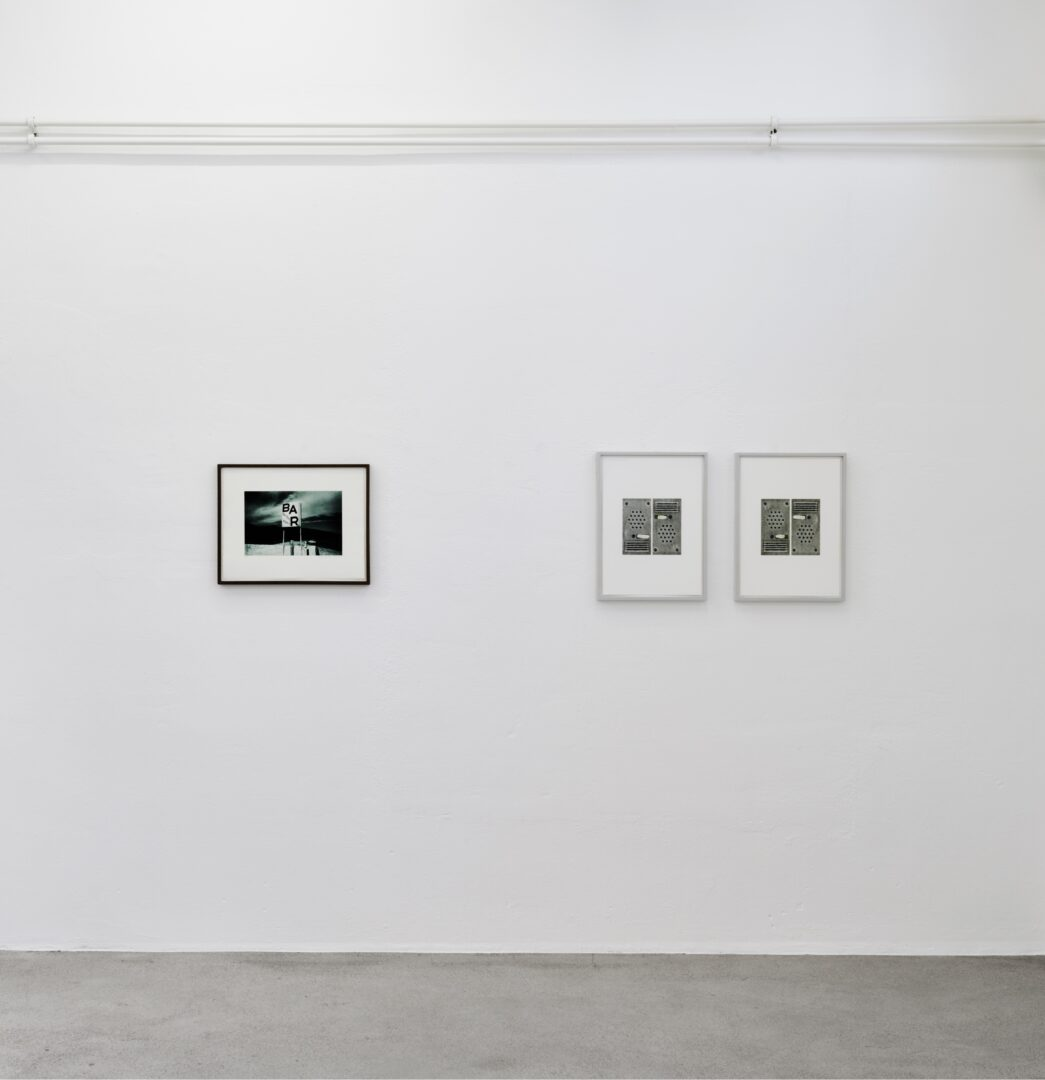 Exhibition View Groupshow «Intaglio and Lithography: Works on Paper; view on Barbara Davatz and Vittorio Santoro» at Edition VFO, Zurch, 2020 / Photo: Sabina Bosch / Courtesy: the artists and Edition VFO