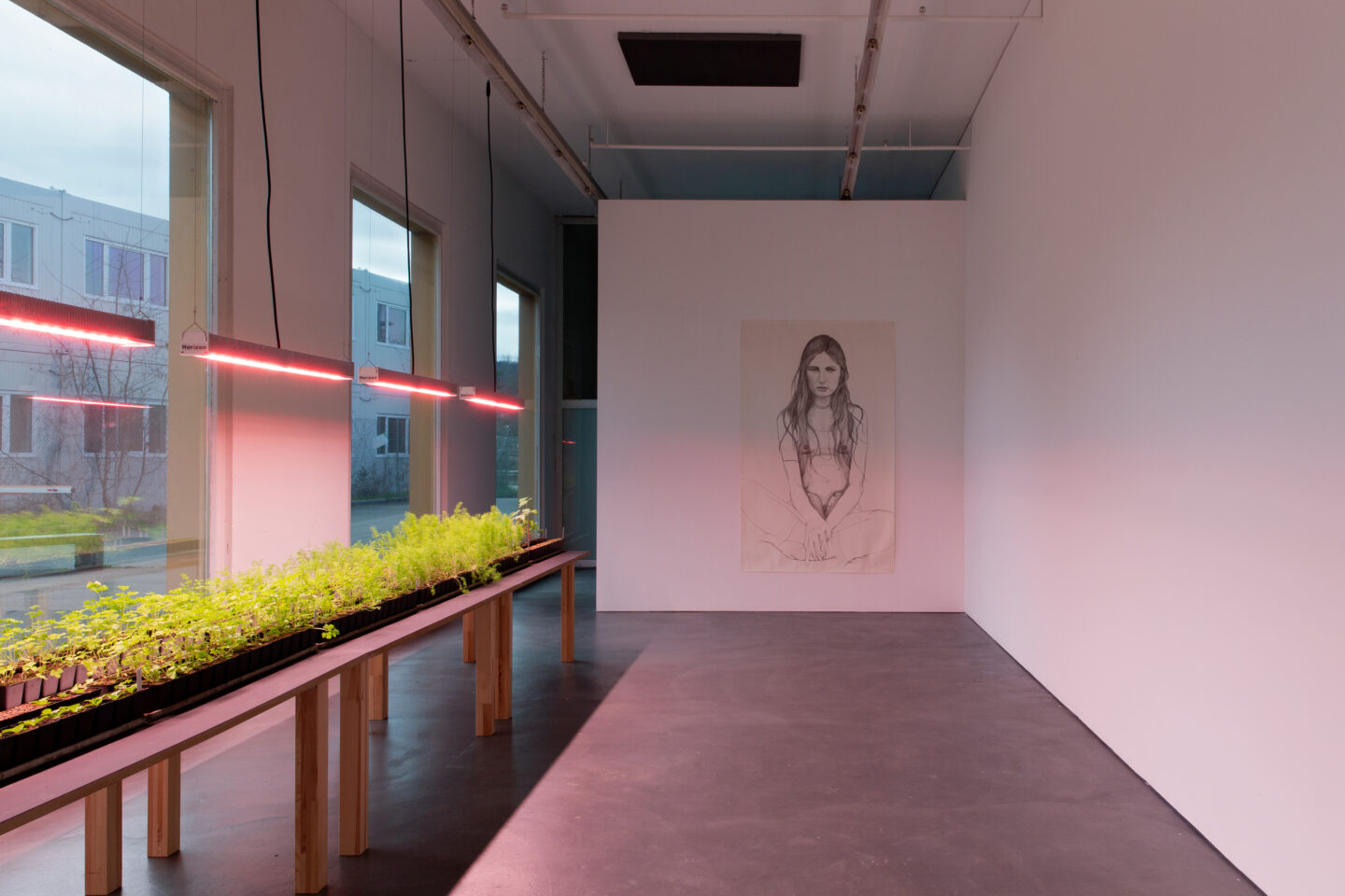 Exhibition View Marlene McCarty Soloshow «Into the Weeds; view on Marlene Olive – June 21, 1976, 1995-1997» at Kunsthaus Baselland, Muttenz, 2020 / Photo: Gina Folly / Courtesy: the artist