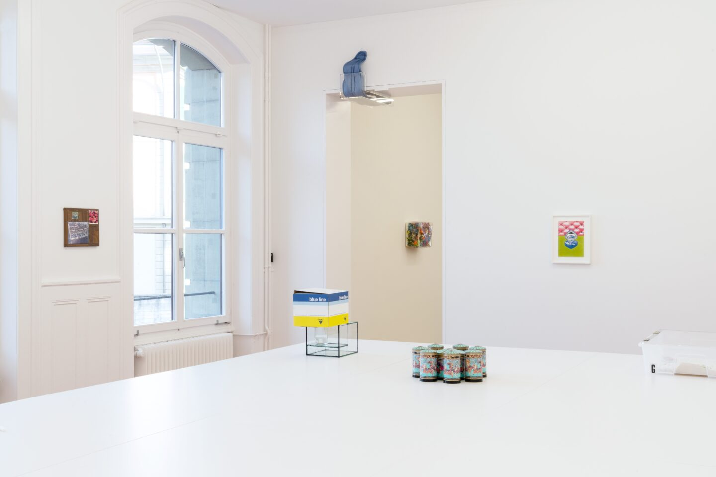 Exhibition View Groupshow «Kasten» at Stadtgalerie, Bern, 2020 / Photo: CE / Courtesy: the artists and Stadtgalerie, Bern
