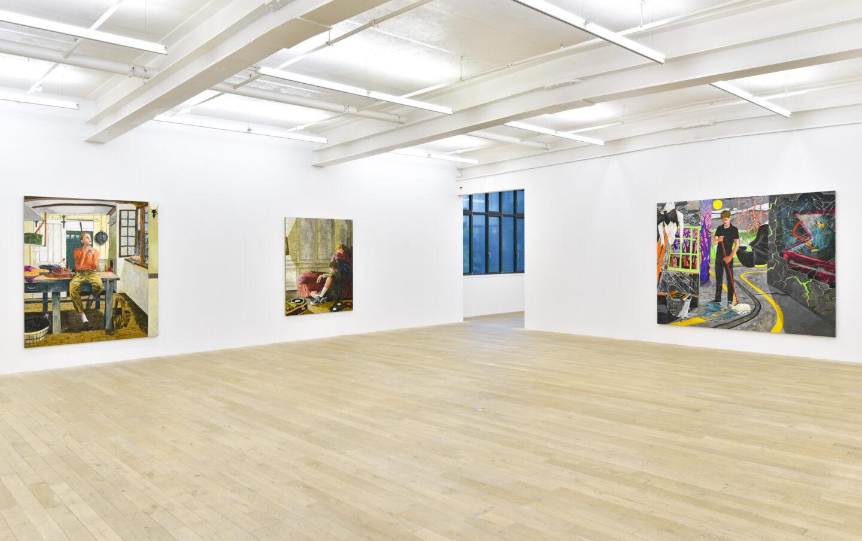 Exhibition View Hernan Bas Soloshow «Interiors» at Galerie Peter Kilchmann, Zurich, 2020 / Courtesy: the artist and Galerie Peter Kilchmann