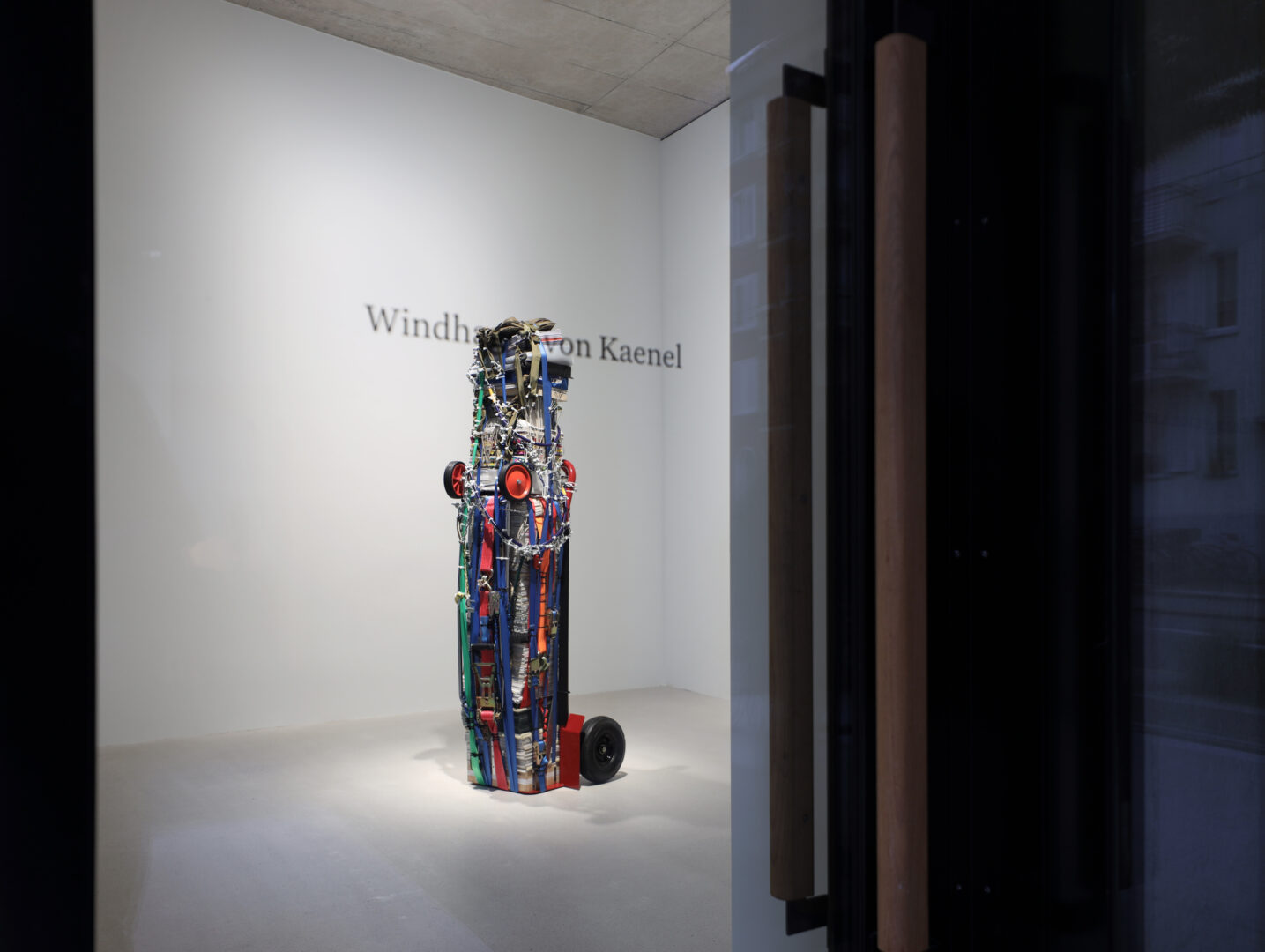 Exhibition View Umut Yasat Soloshow «5/1» at Windhager von Kaenel, Zurich, 2020 / Photo: Fabian Windhager / Courtesy: the artist and Windhager von Kaenel