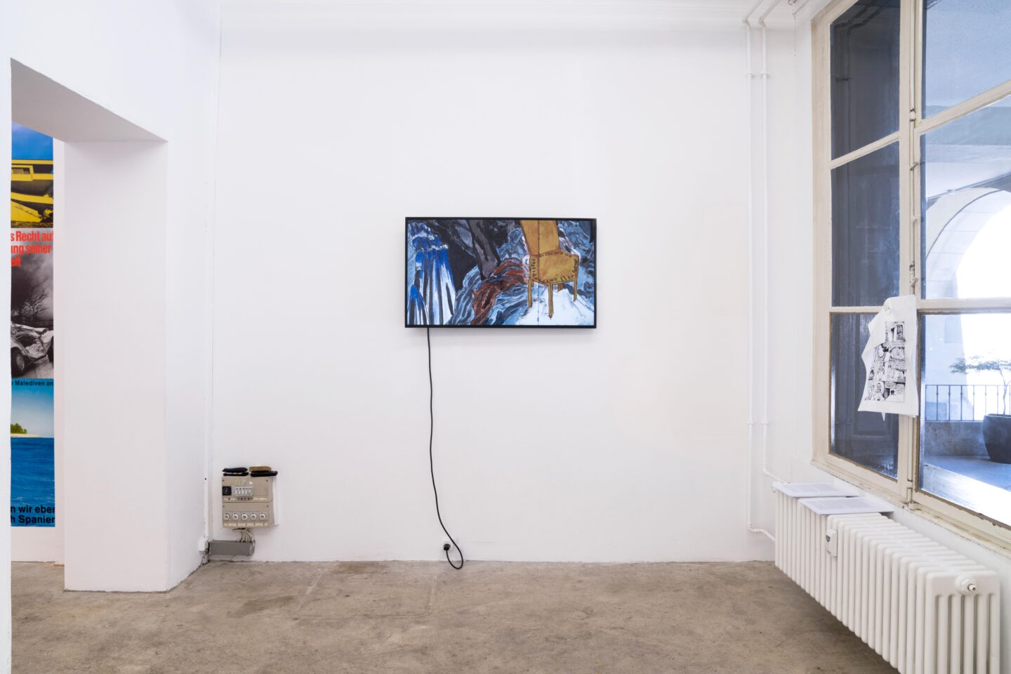 Exhibition View Groupshow «For» at Milieu, Bern, 2020 / Photo: Claude Barrault / Courtesy: the artists and Milieu