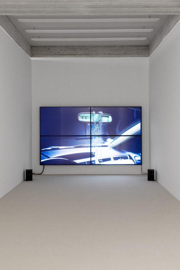 Exhibition View Groupshow «Metamorphosis Overdrive; view on Simon Dybbroe Møller, Animate V, 2012» at Kunstmuseum St. Gallen, St. Gallen, 2020 / Photo: Sebastian Stadler / Courtesy: the artist and Kunstmuseum St. Gallen