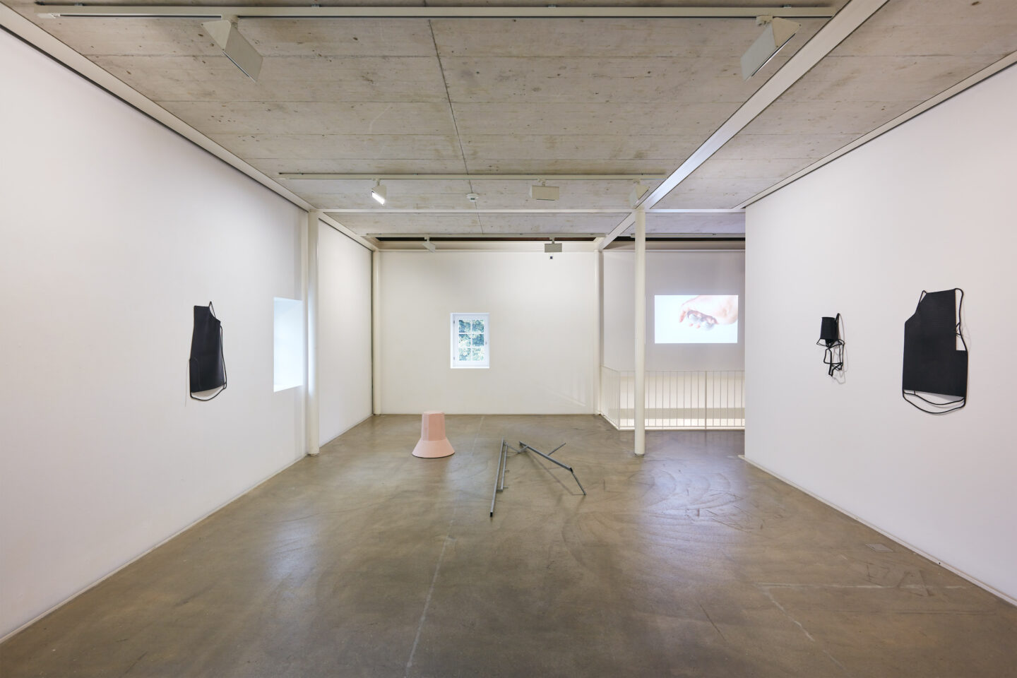Exhibition View Groupshow «Motor» at Kunstraum Riehen, Riehen, Basel, 2020 / Photo: Moritz Schermbach / Courtesy: the artists