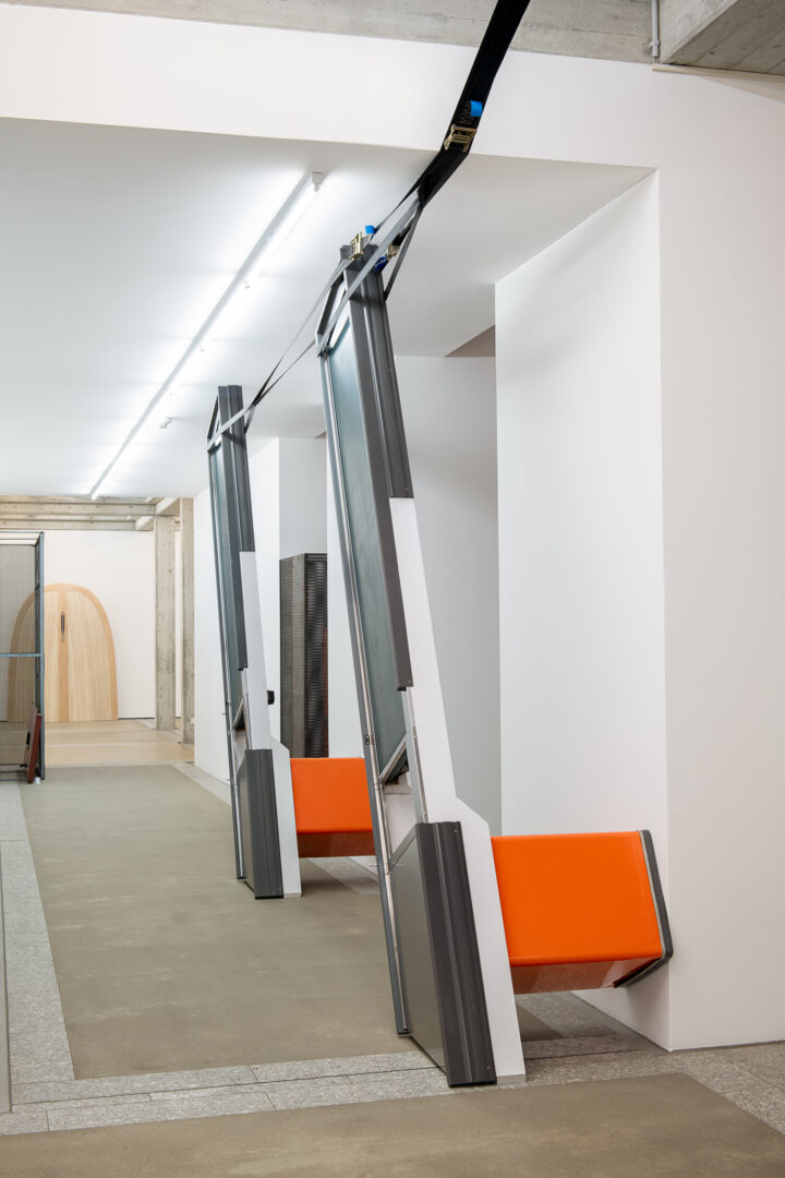 Exhibition View Groupshow «Metamorphosis Overdrive» at Kunstmuseum St. Gallen, St. Gallen, 2020 / Photo: Sebastian Stadler / Courtesy: the artists and Kunstmuseum St. Gallen