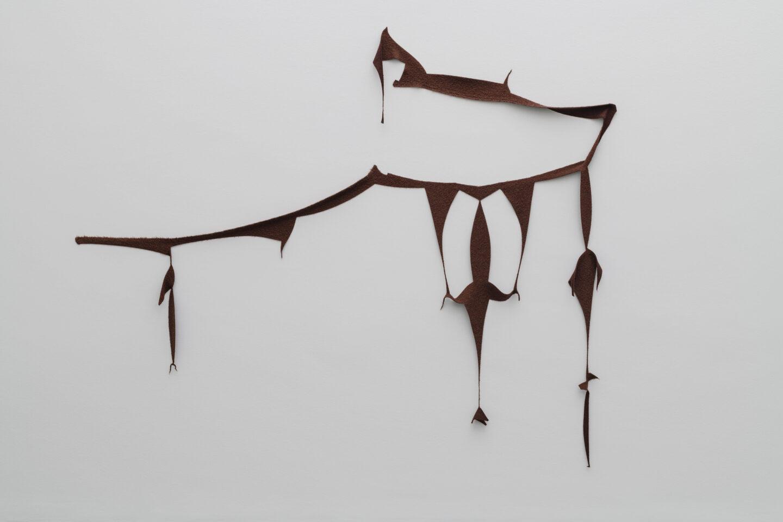 Wolle, 270 x 315 cm» at Kunstmuseum Luzern, Lucerne, 2020 / Photo: Marc Latzel / Courtesy: the artist and Galerie Urs Meile, Beijing-Lucerne