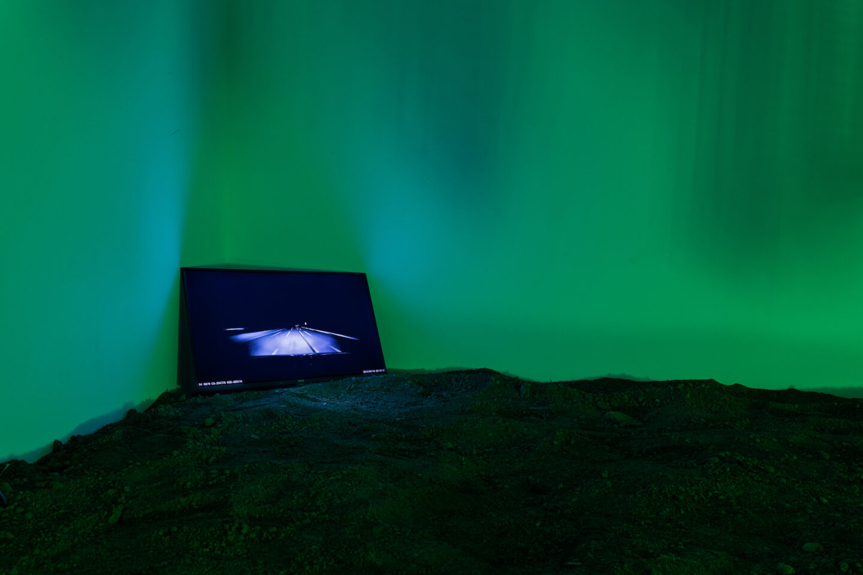 Exhibition View Philipp Hänger Soloshow «Dear Optimist» at Kunsthalle Luzern, Lucerne, 2020 / Photo: Killian Bannwart / Courtesy: the artist and Kunsthalle Luzern
