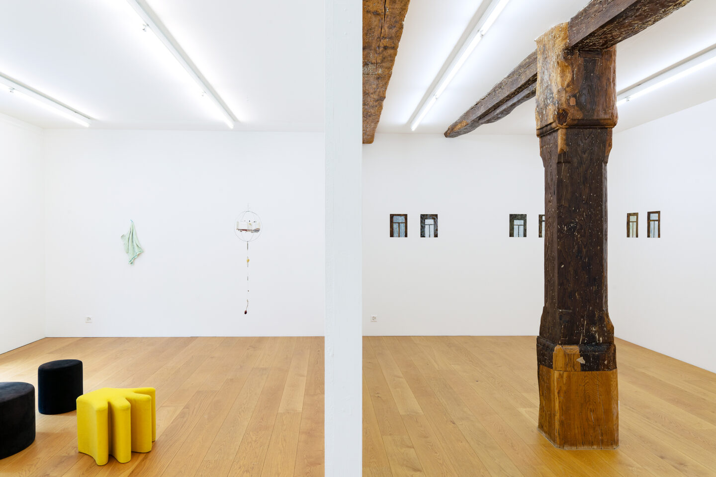 Exhibition View Groupshow «Among Them» at Kirchgasse, Steckborn, 2020 / Courtesy: the artists and Kirchgasse