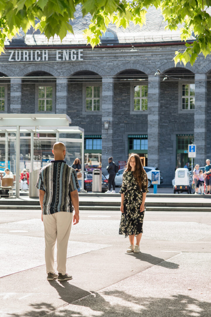 Exhibition View Groupshow «Gasträume 2020; view on Ronja Römmelt, Zwischenräume, 2020» at Public Art in Zurich, Zurich, 2020 / Photo: Taiyo Onorate & Nico Krebs for AG KiöR Stadt Zürich / Courtesy: the artist / Supported by: the Migros Culture Percentage, the Ernst Göhner Foundation and Studio RR