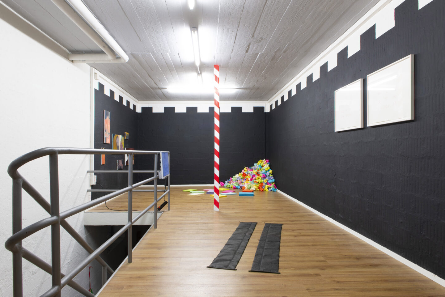 Exhibition View Groupshow «i hate you» at Plymouth Rock, Zurich, 2020 / Courtesy: the artists and Plymouth Rock