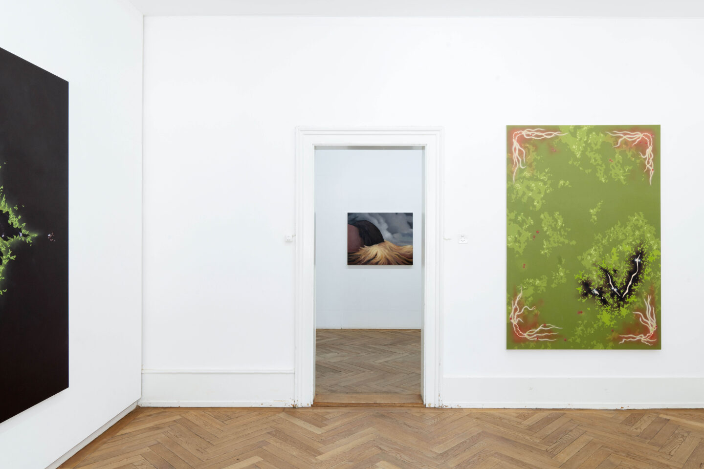 Exhibition View Groupshow «Soft Shell; view on Natacha Donzé» at Kunsthaus Langenthal, Langenthal, 2020 / Photo: CE / Courtesy: the artists and Kunsthaus Langenthal