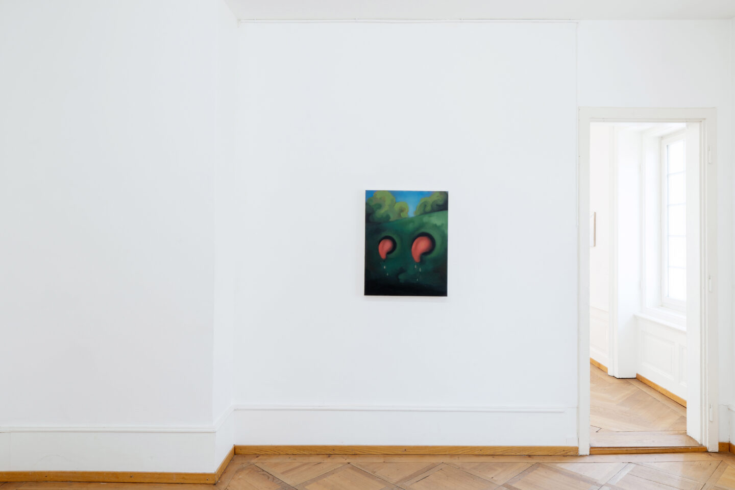 Exhibition View Groupshow «Soft Shell; view on Anna Shirin Schneider» at Kunsthaus Langenthal, Langenthal, 2020 / Photo: CE / Courtesy: the artists and Kunsthaus Langenthal