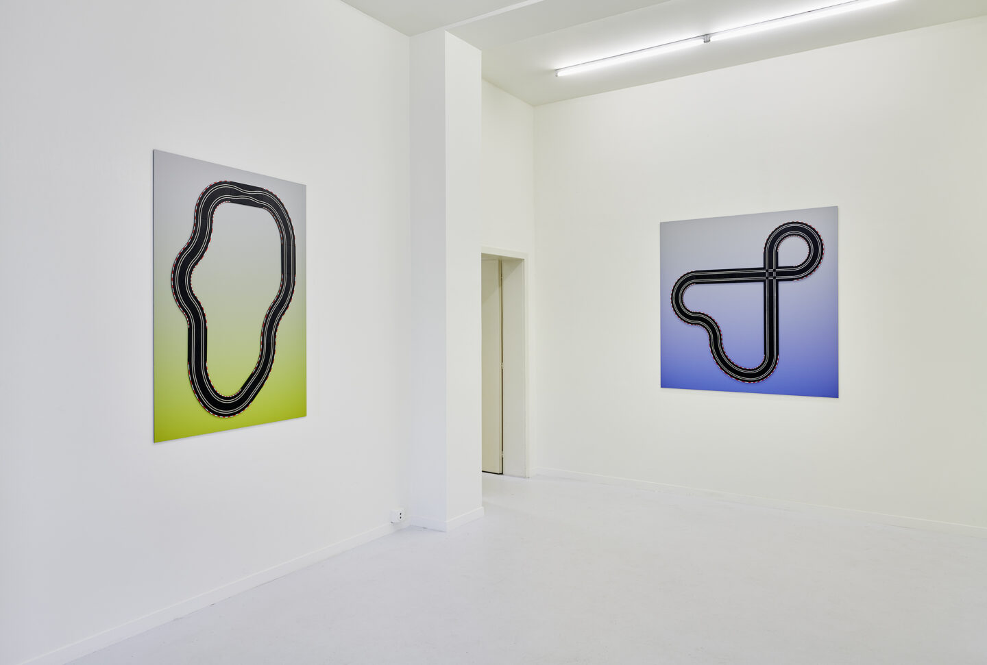 Exhibition View Malte Bartsch Soloshow «Bottom Up» at Lemoyne Project, Zurich, 2020 / Courtesy: the artist and Lemoyne Project