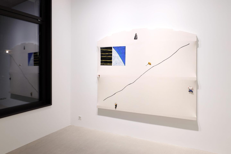 Exhibition View Charles Benjamin Soloshow «Not Again; view on Charles Benjamin, La Menina, 2020» at Windhager von Kaenel, Zurich, 2020 / Courtesy: the artist and Windhager von Kaenel