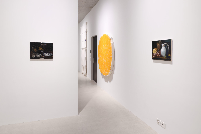 Exhibition View Charles Benjamin Soloshow «Not Again» at Windhager von Kaenel, Zurich, 2020 / Courtesy: the artist and Windhager von Kaenel
